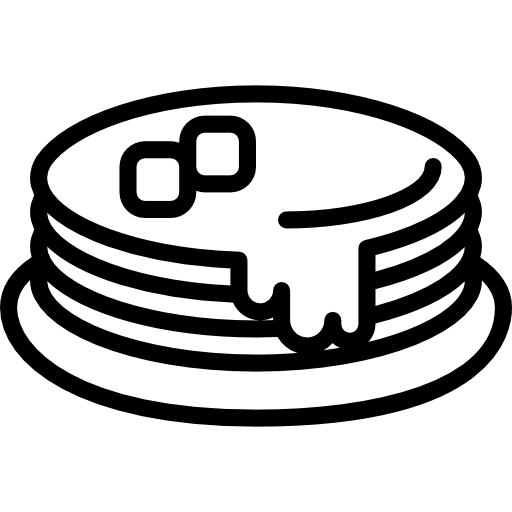 picture black and white download Pancakes black and white clipart. Icon png svg