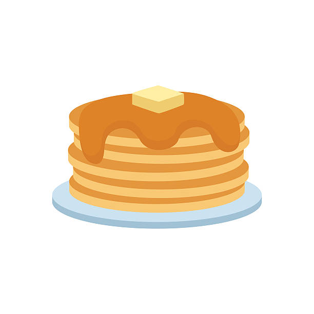svg royalty free download Pancakes clipart. Station .
