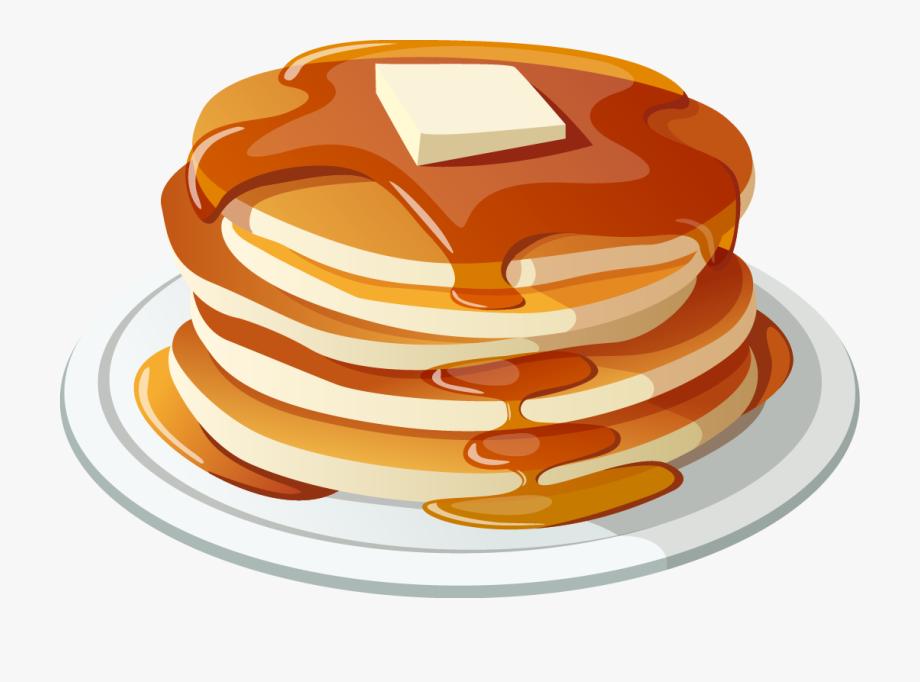 banner transparent library Waffle hotdog illustration free. Pancakes clipart.