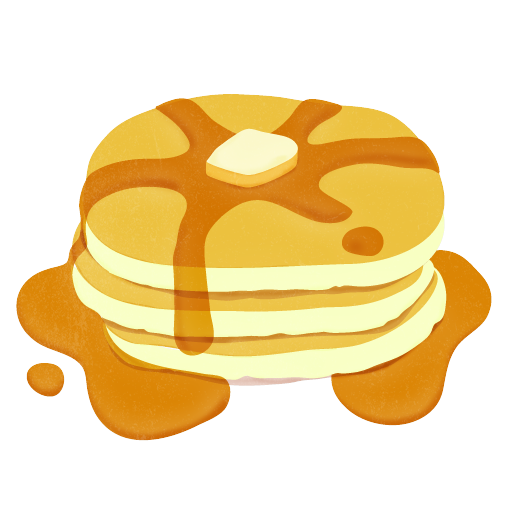 clip transparent library Pancakes clipart. Frames illustrations hd images
