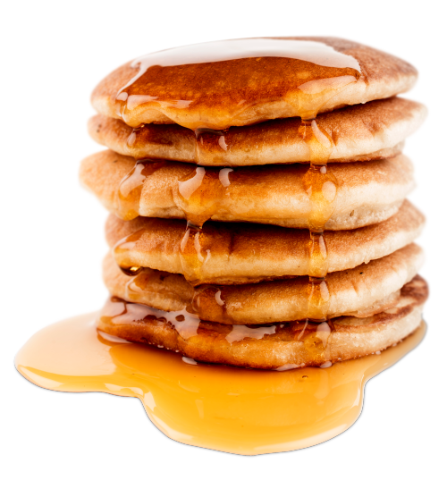 png free stock Pancakes transparent.  totallytransparent made by