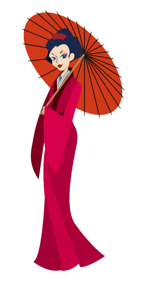clipart free Clip art for machine. Japanese clipart clothes japan