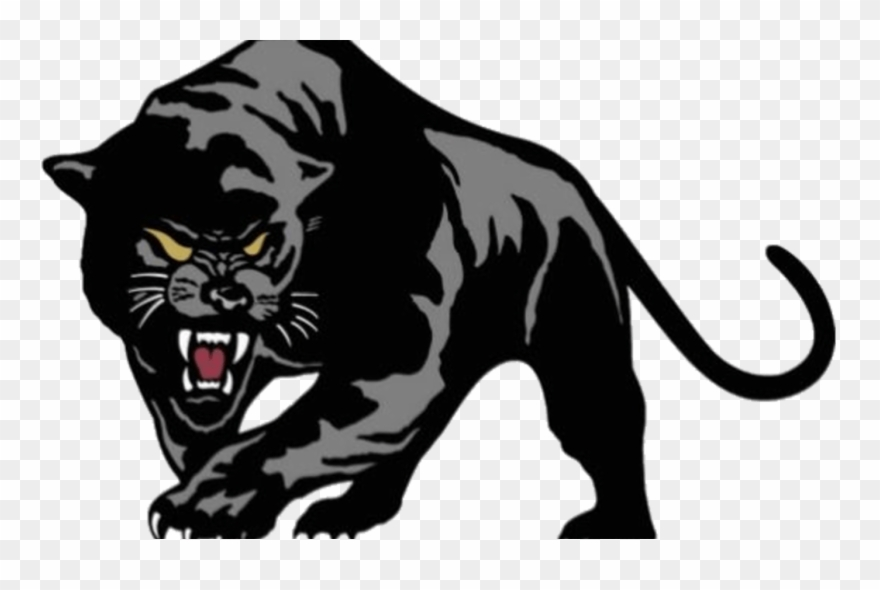 clip art black and white stock Panther clipart. Black pioneer png download