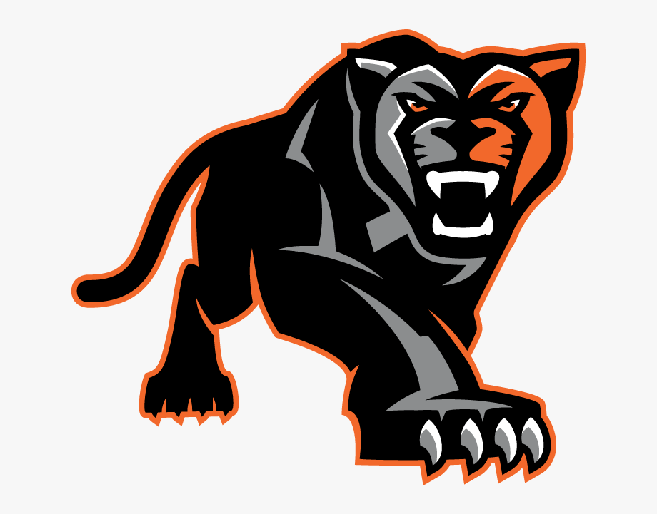 clip art transparent download Full body ohs panthers. Panther clipart