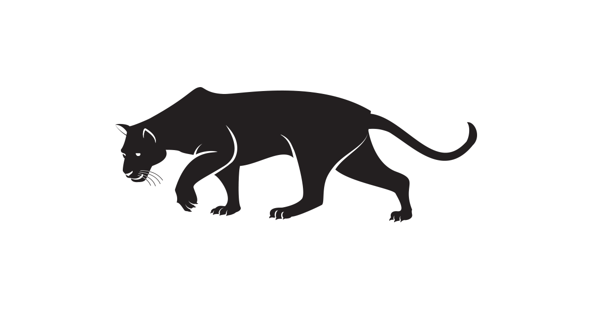 vector library library Panther clipart. Frames illustrations hd images