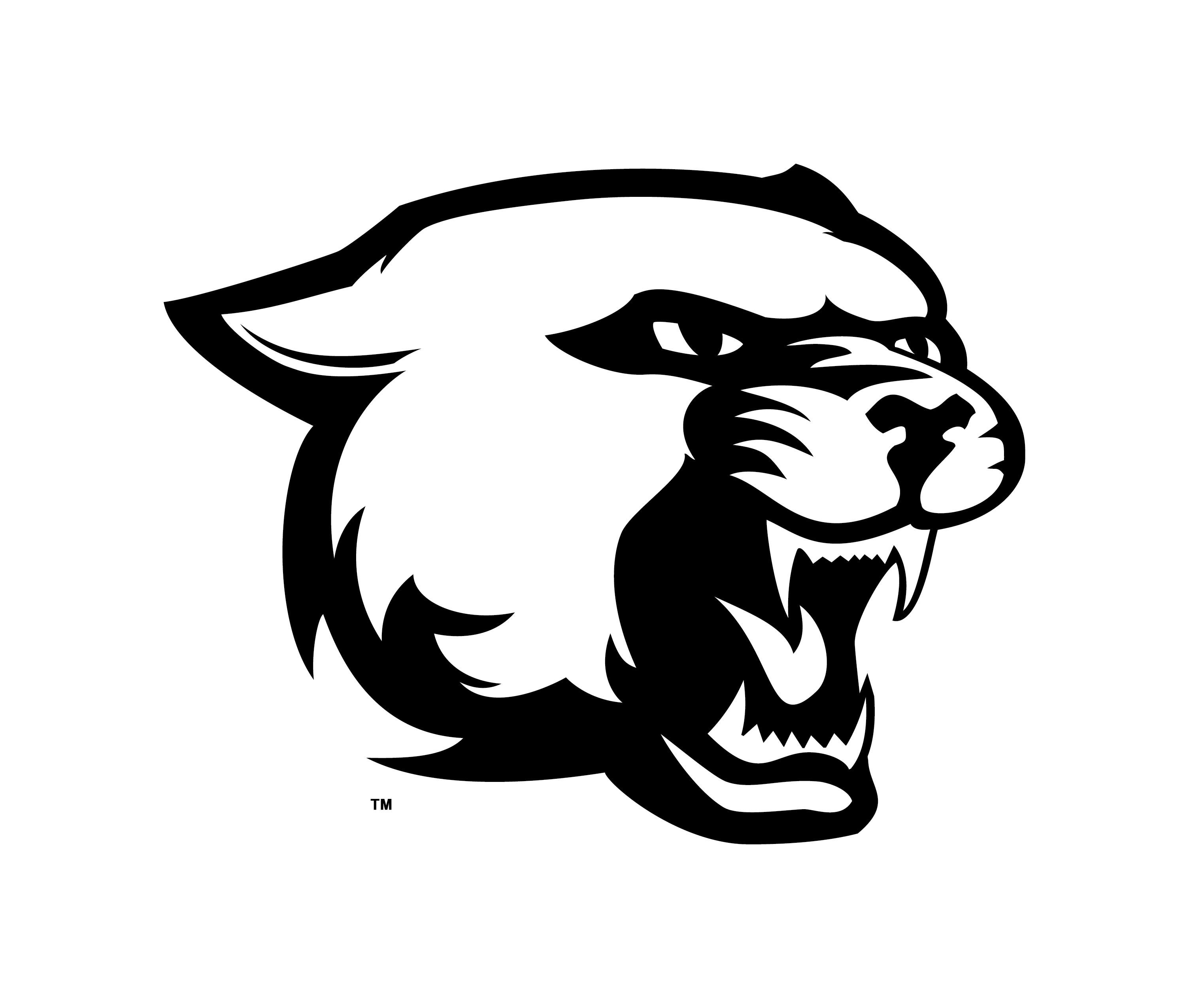 picture royalty free download panthers drawing #87476854