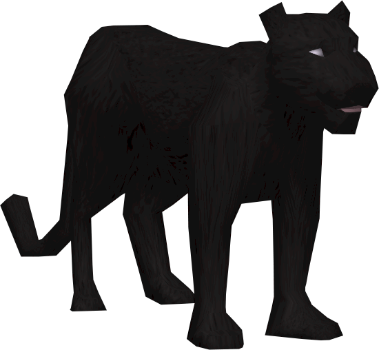 graphic royalty free download Runescape wiki fandom powered. Panther walking clipart