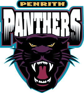 vector library library Penrith logo eps free. Panthers vector