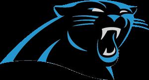 graphic black and white stock Carolina logo ai free. Panthers vector