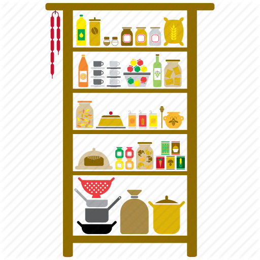 image  collection of high. Pantry clipart