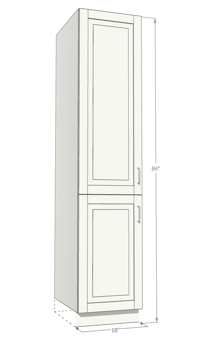 banner royalty free library Vector door modern. Apc tall single pantry