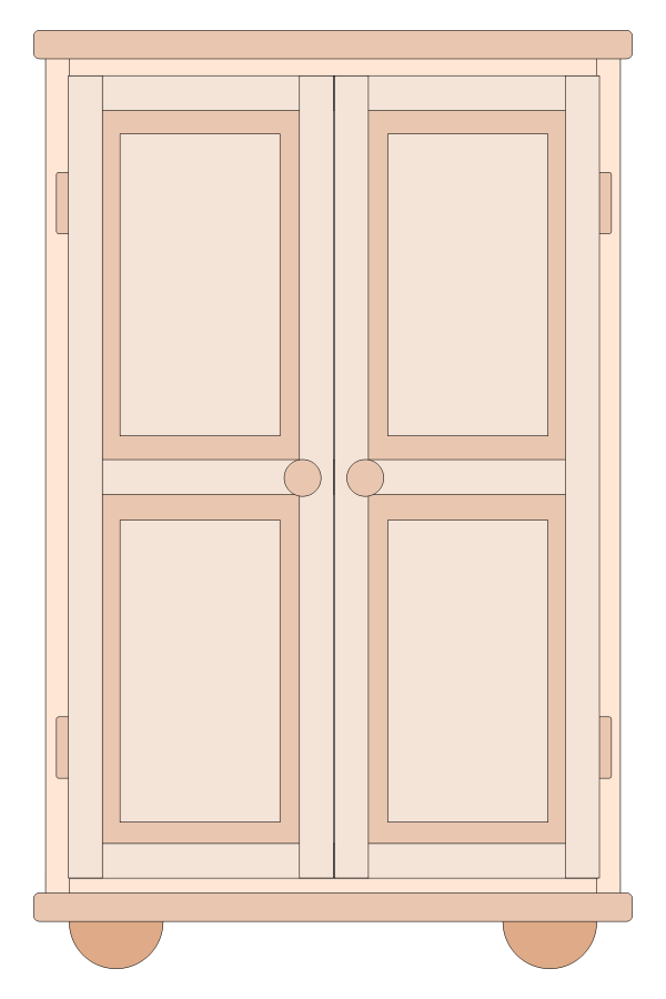 clipart free Cupboard armoires wardrobes clip. Pantry clipart closed closet