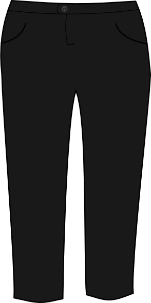 picture black and white Clothes clipart jeans. Download trouser free png.