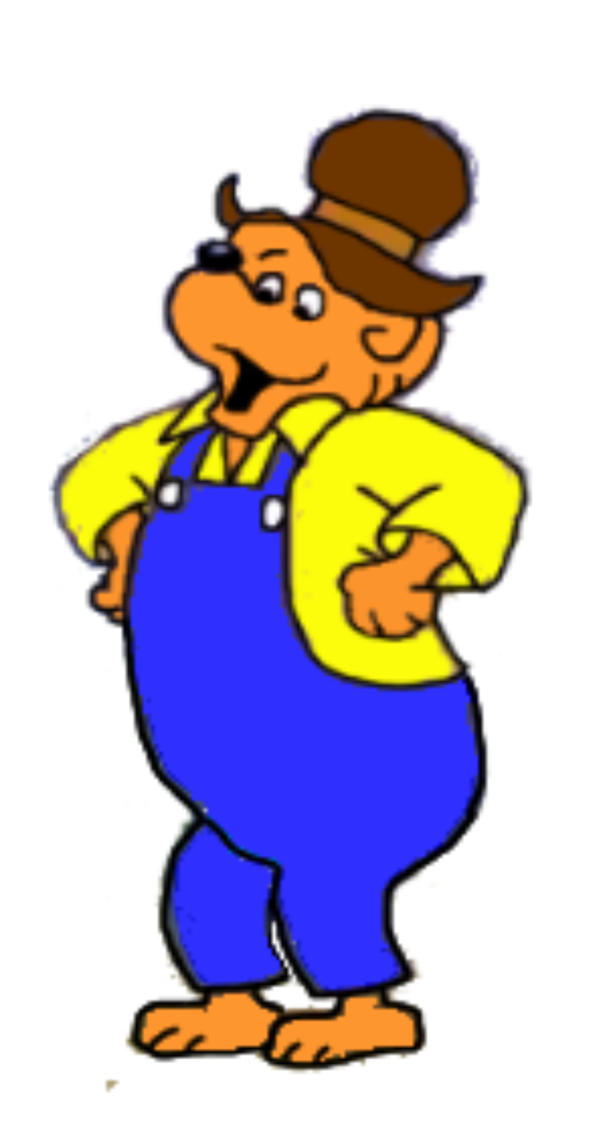 jpg library download Papa bear clipart. The berenstain bears by
