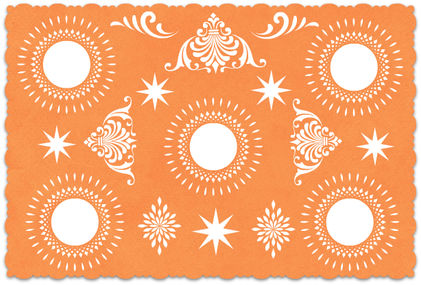 png royalty free library . Papel picado clipart.