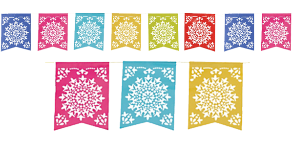 picture royalty free library Images of Papel Picado Banner Png