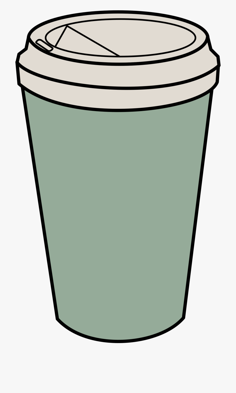 vector freeuse library Paper coffee cup clipart. Tumbler clip art