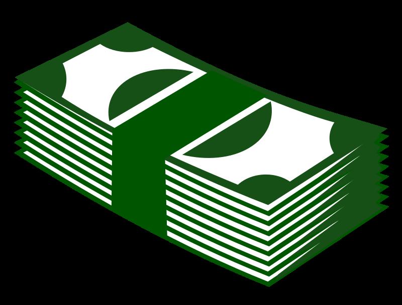graphic transparent download paper money clipart #66001894