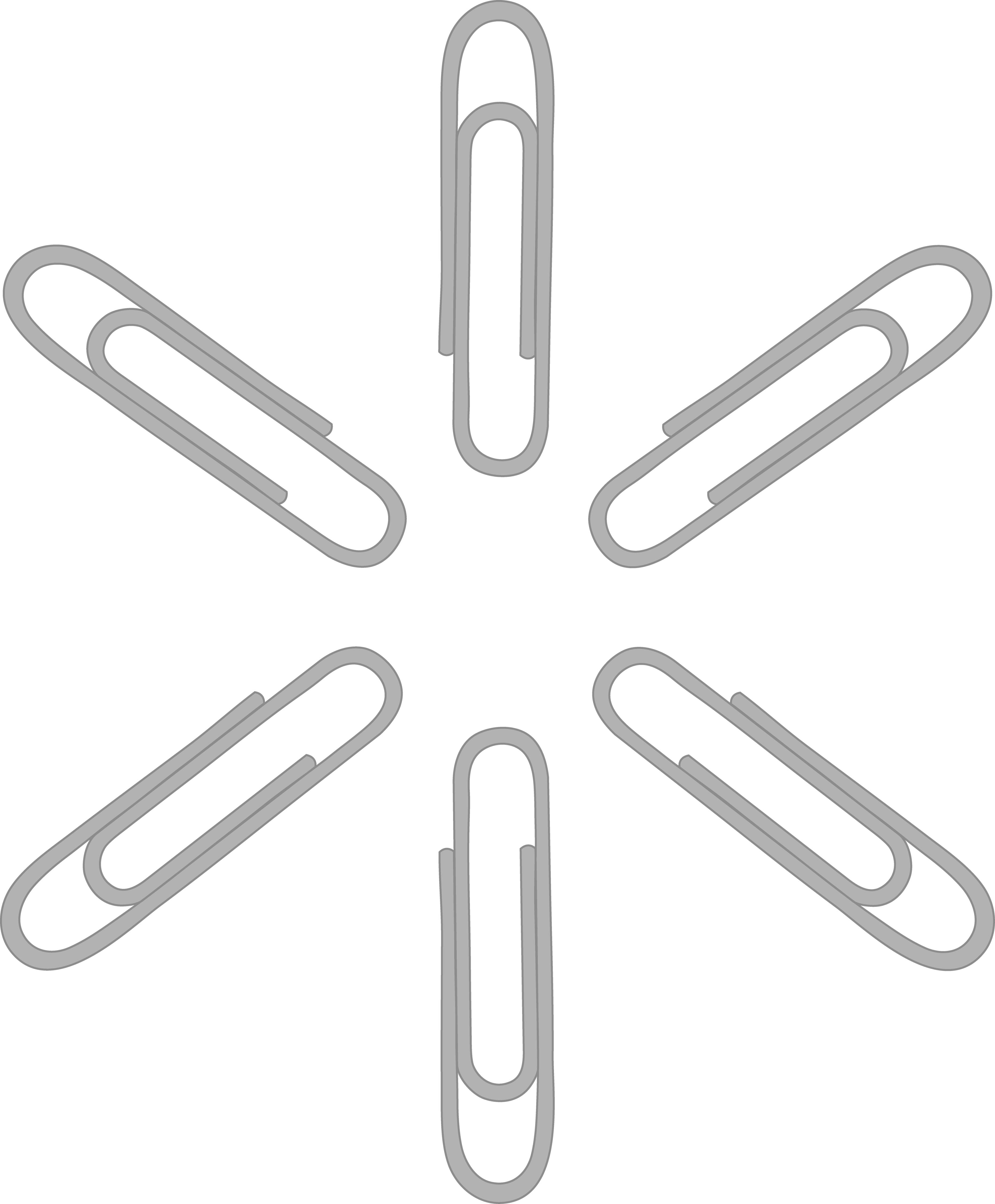 clip art library library Silver Paper Clip Pattern