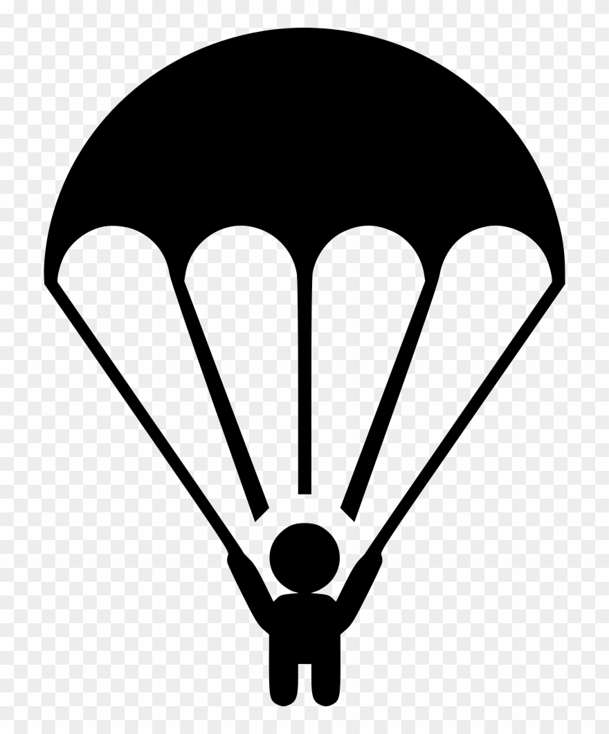 svg freeuse library Svg png download . Parachute clipart