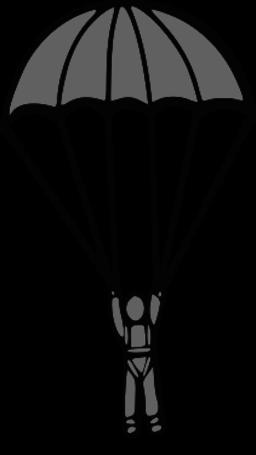 jpg royalty free download Parachute clipart. Free parachuting cliparts download