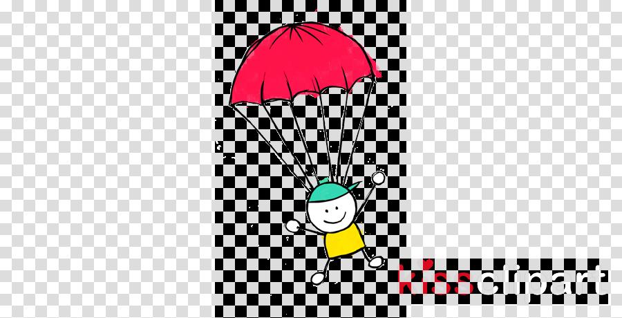 jpg stock Fall leaf illustration drawing. Parachute clipart