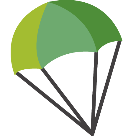 clip transparent stock Green free on dumielauxepices. Parachute clipart