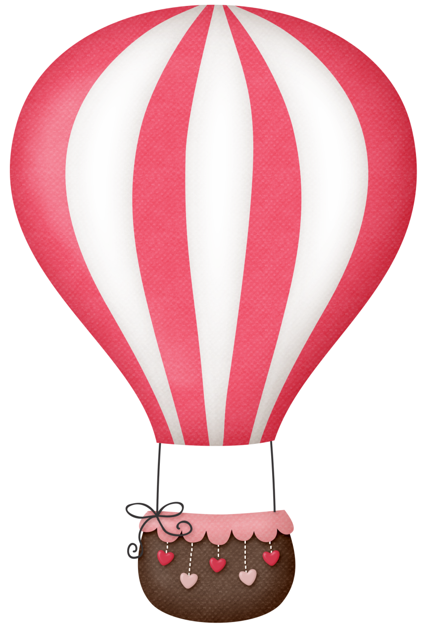 picture freeuse pink hot air balloon clipart #55184327