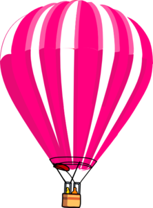 graphic library download Hot Air Balloon Clip Art Png