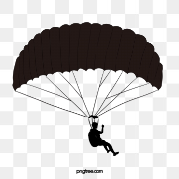 vector free stock Parachute vector clipart. Parcel png psd and