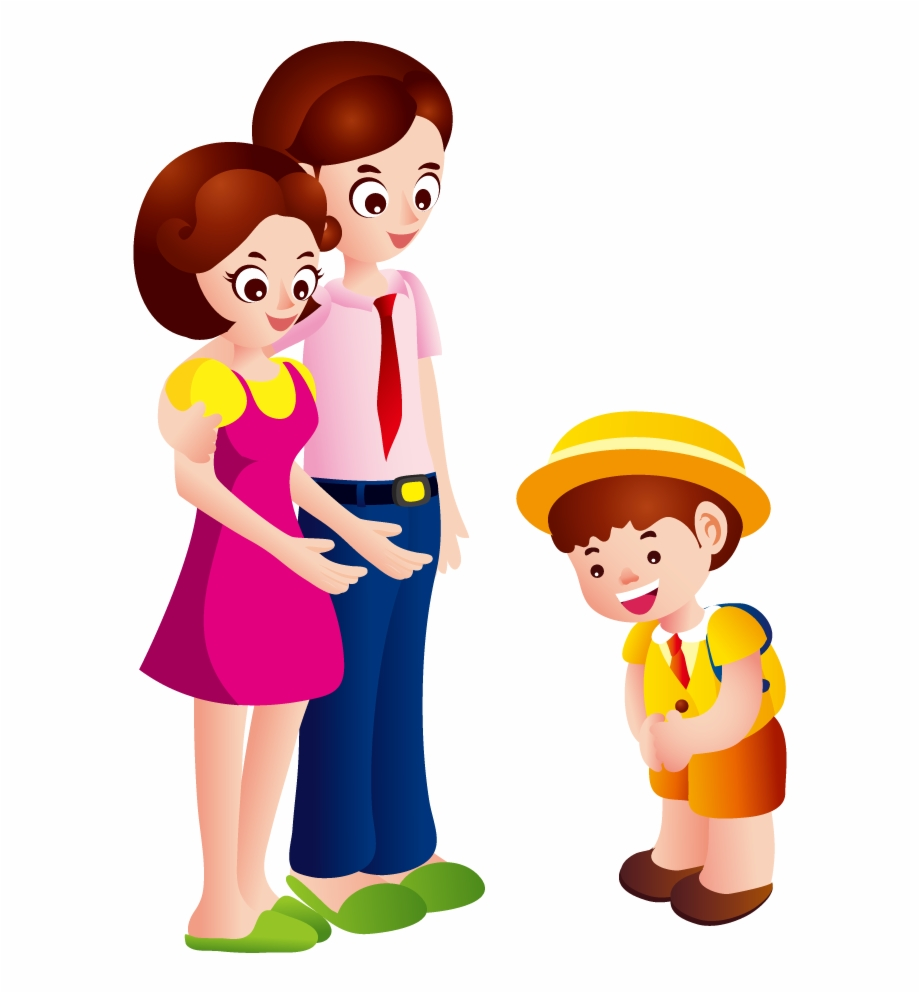 clip royalty free library And child png saying. Parent clipart.