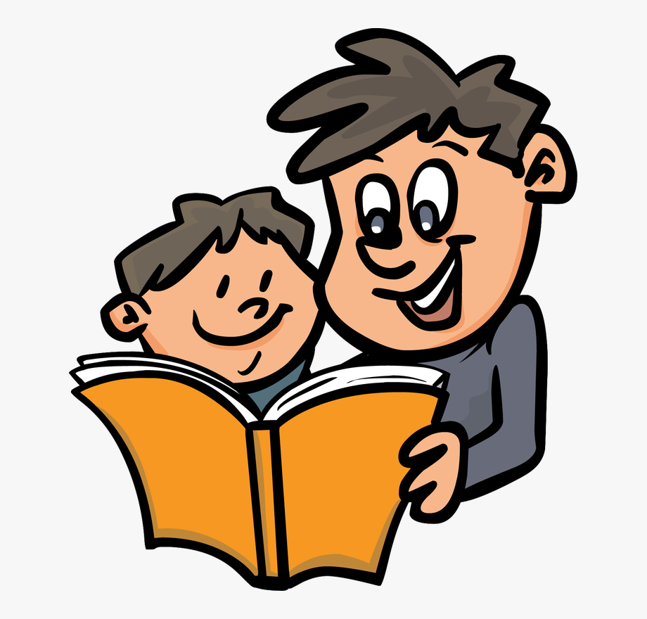 picture download Png . Parent reading to child clipart