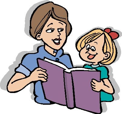picture free Pin on talk about. Parent reading to child clipart