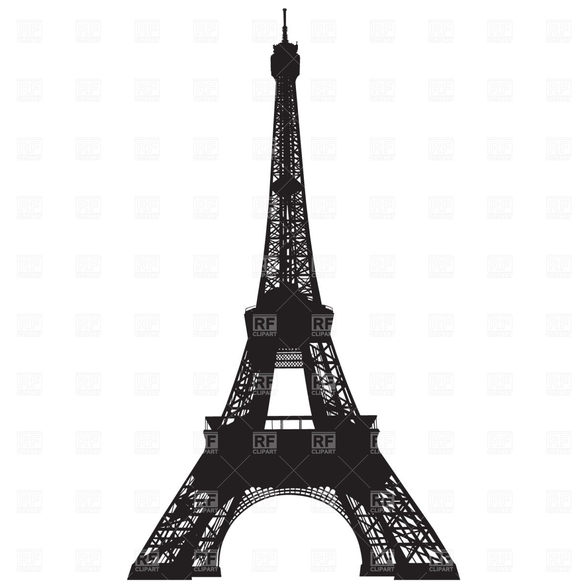 banner black and white Pin by a chic. Paris clipart
