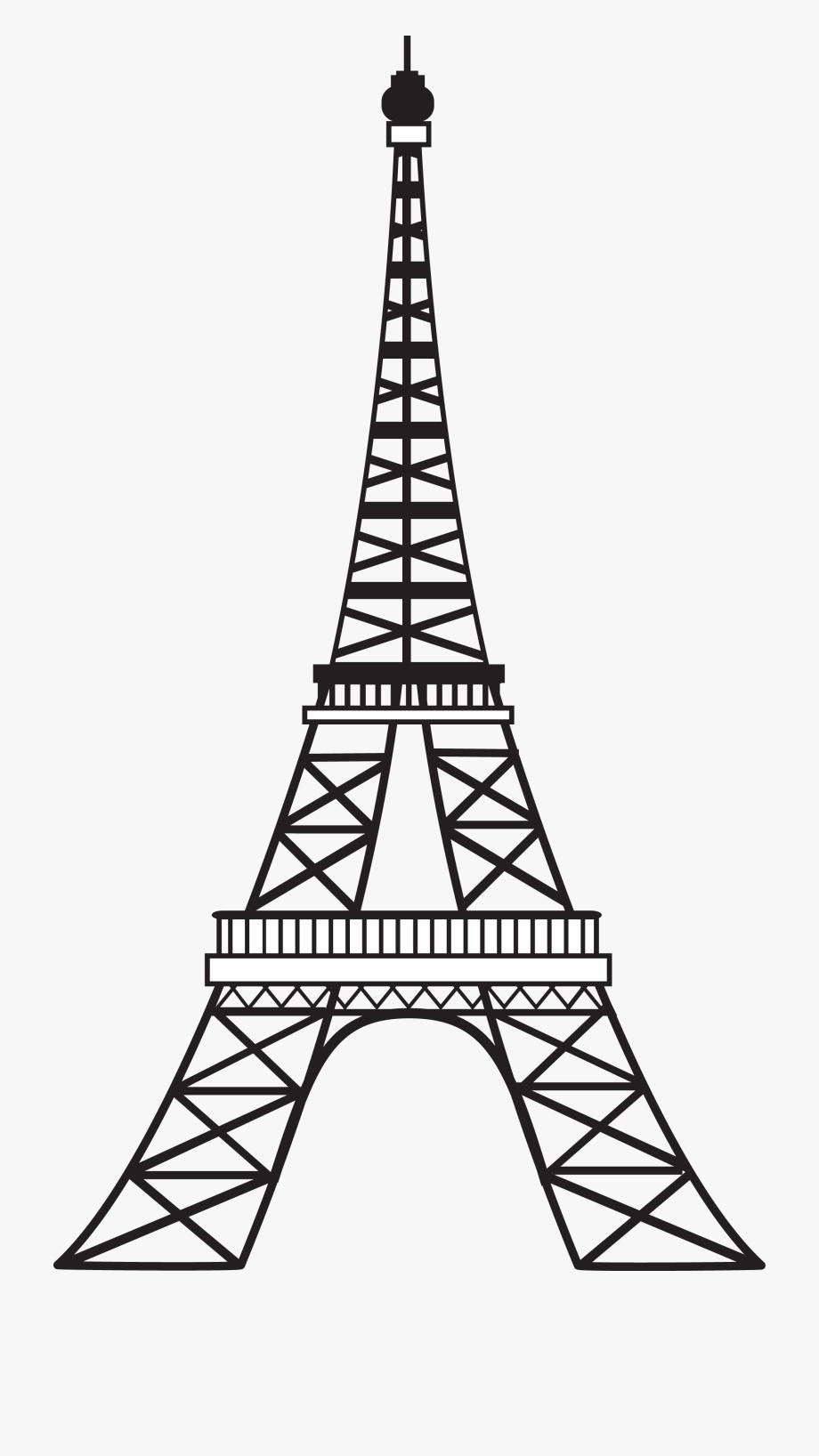 picture library Paris clipart. Svg eiffel tower clip.
