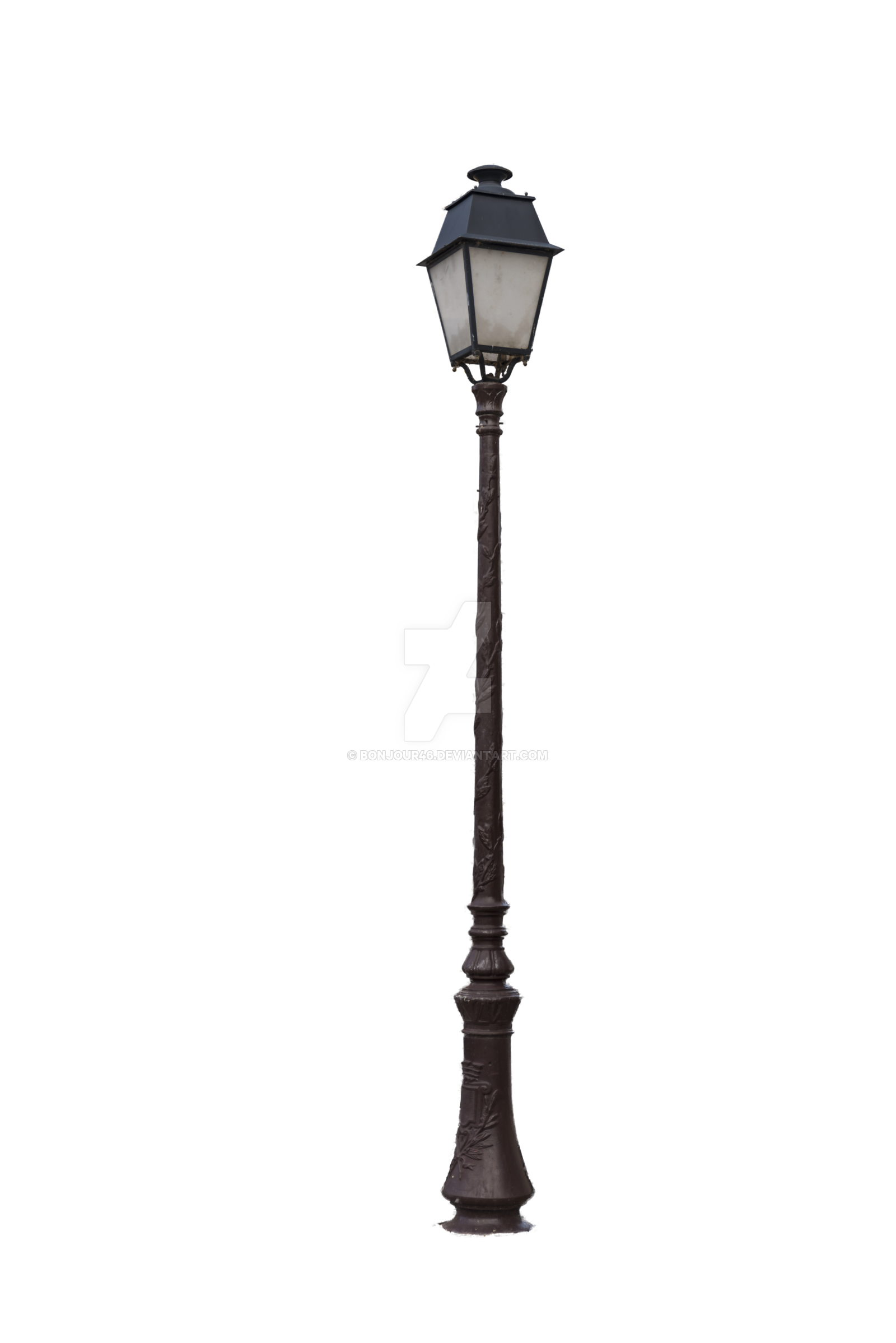 banner black and white stock PNG Lamp Post Transparent Lamp Post