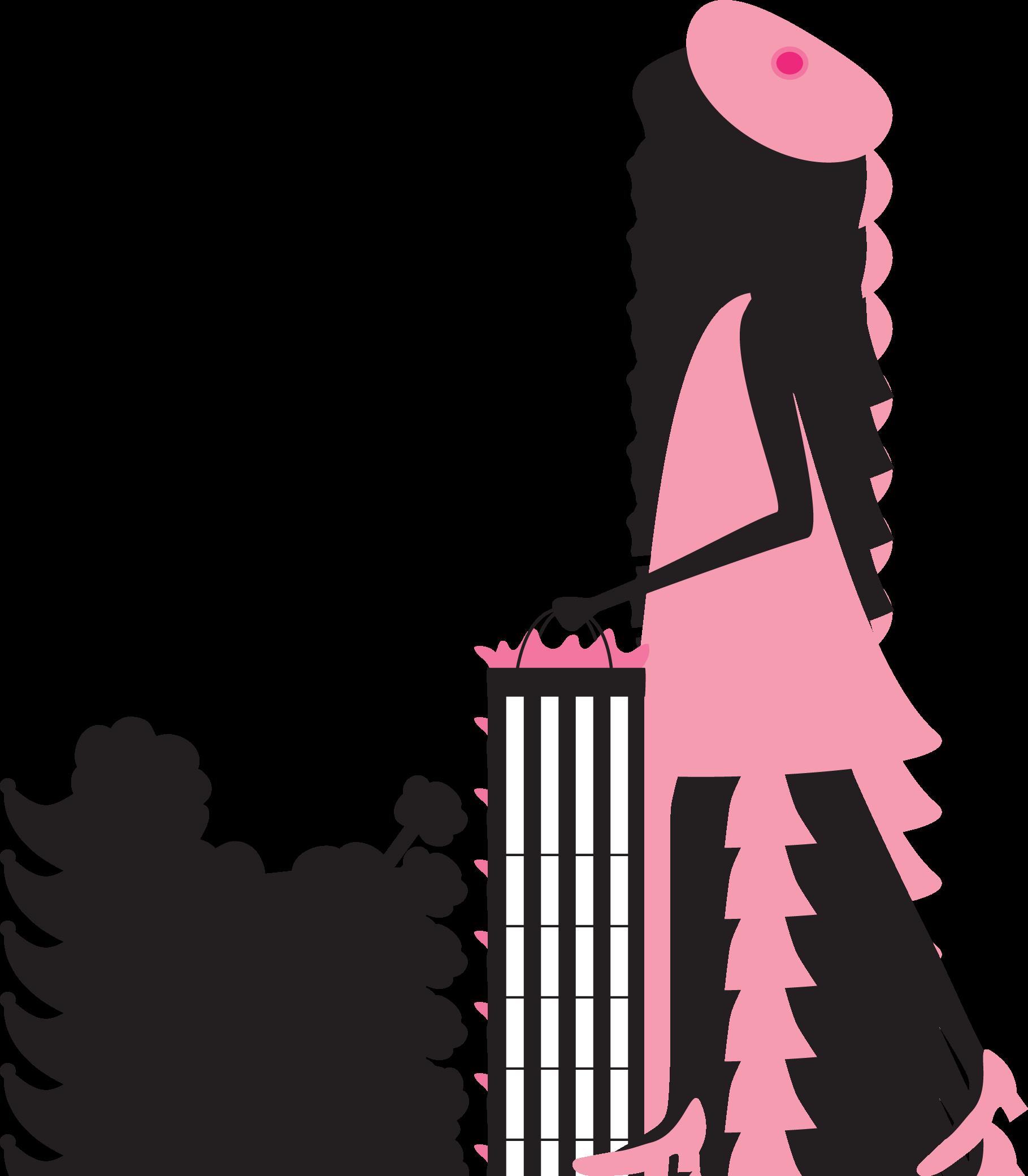 image download Isvj apoczras png pinterest. Poodle clipart woman paris.