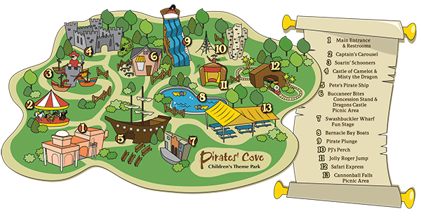 graphic royalty free Amusement map free on. Park clipart