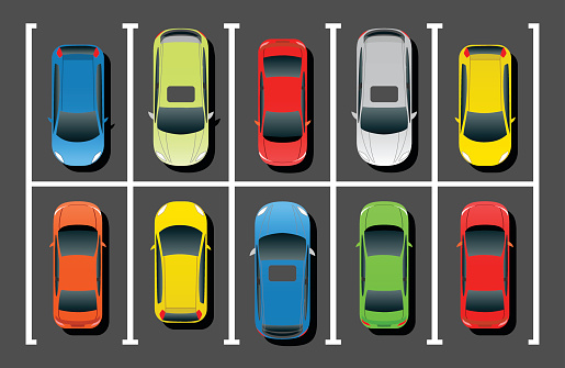 free stock Free garage cliparts download. Parking lot clipart.