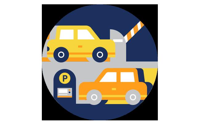 vector free stock Parking Enforcement
