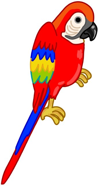 graphic free library Parrot clipart. Free parrots cliparts download.
