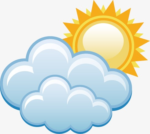 freeuse download Cloudy the weather forecast. Partly clipart