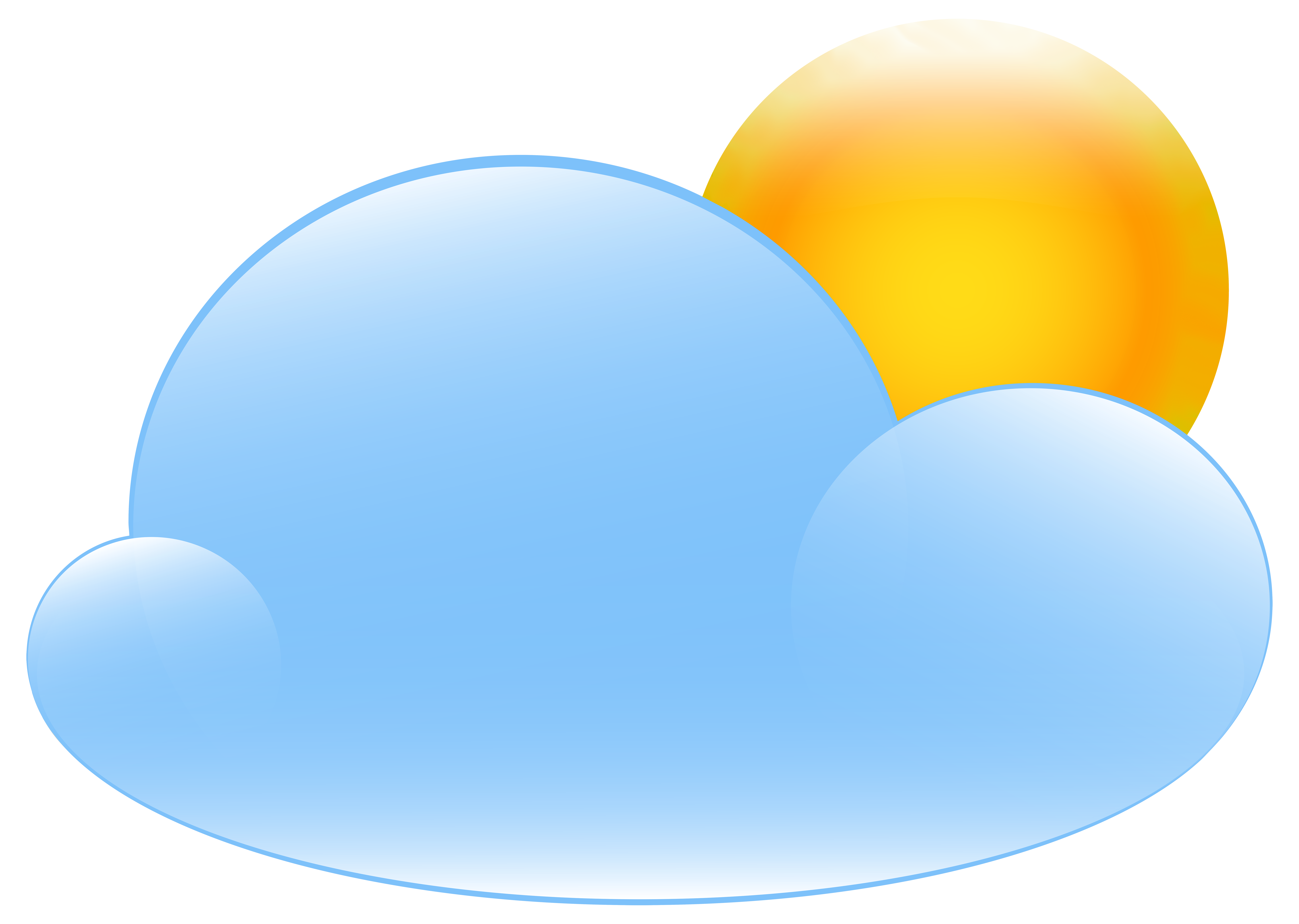 svg free download Partly clipart. Cloudy with sun weather