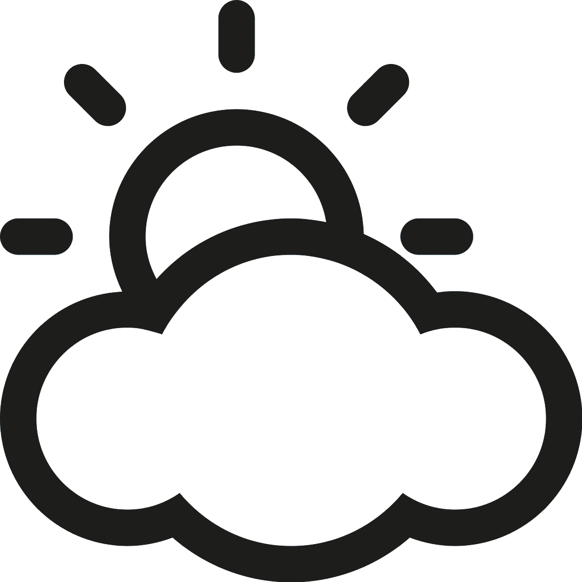 vector free library Partly cloudy clipart black and white. Pictures posters news videos