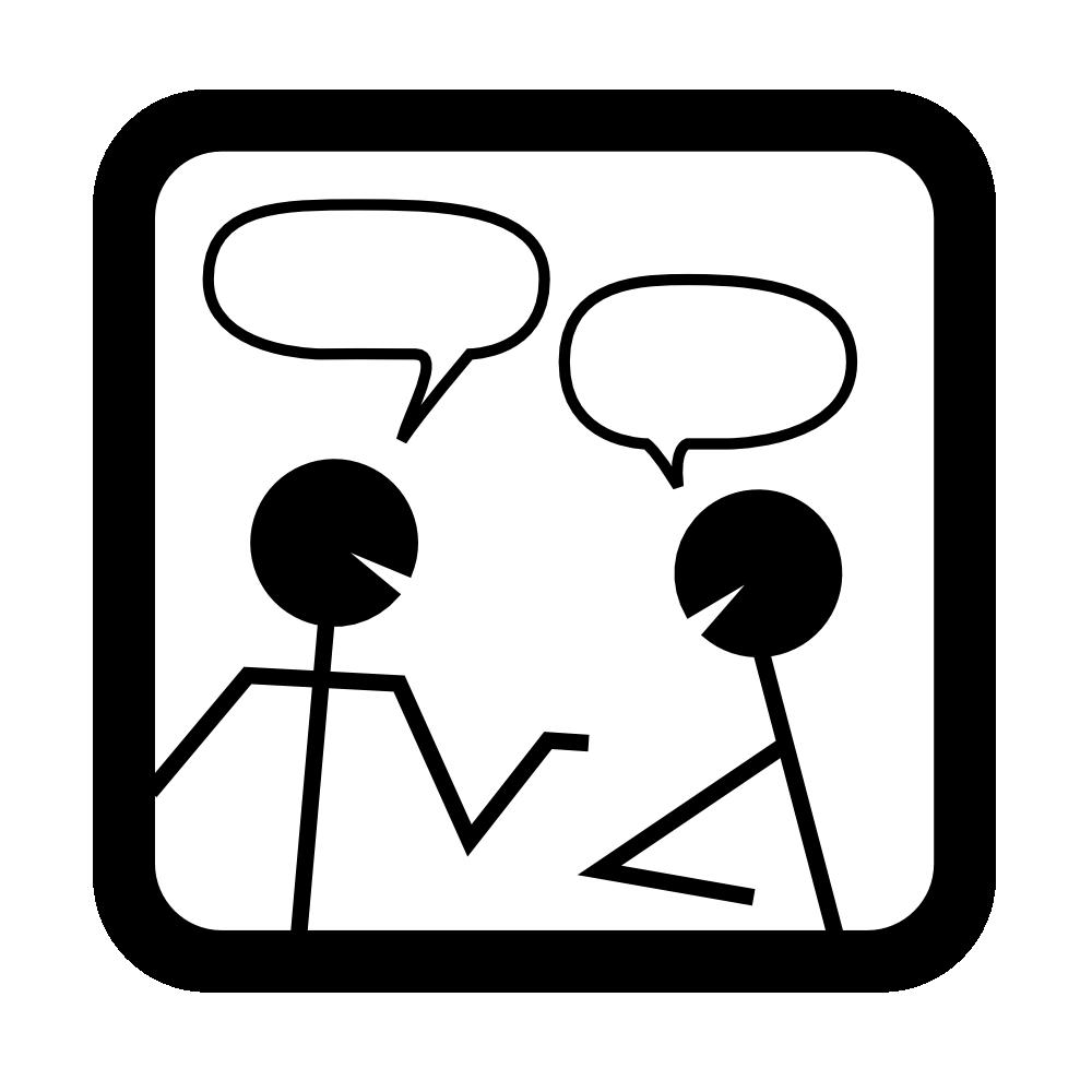 transparent download partner talk clipart #67789748
