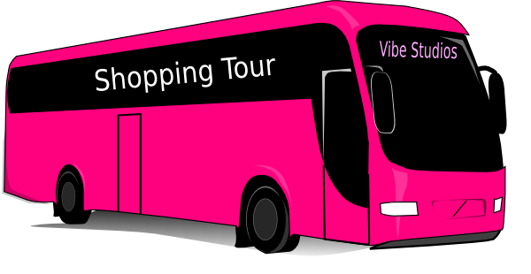 vector freeuse stock Pink Bus Clip Art at Clker