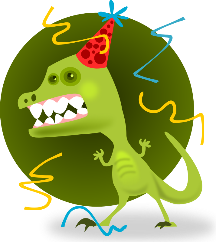 banner Party clipart. Free graphics of parties