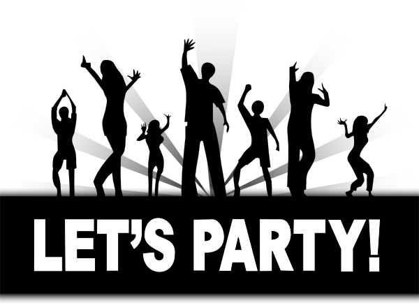 vector free download Lets Party Clip Art at Clker