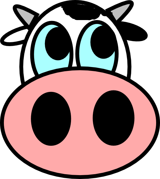 svg royalty free library Art of being pinterest. Cow face clipart black and white