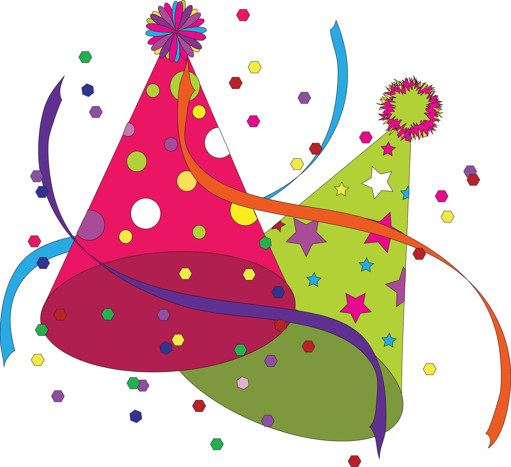graphic library Free birthday clip art. Party clipart